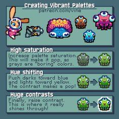 Creating vibrant palettes  hallovine spirit (@vine2D) |  Twitter
