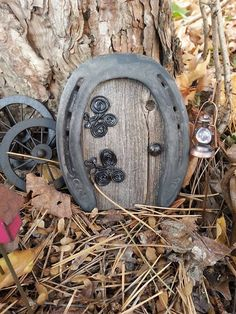 Horse Shoe Fairy Door