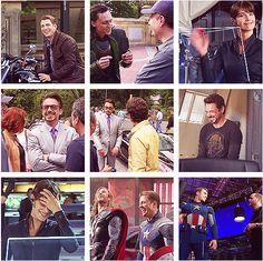 Avengers bts