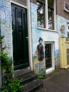 Amsterdam #streetart #VanGogh