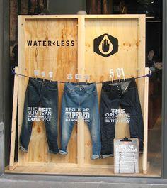 Jeans forever! Símbolo fashion, o jeans merece vitrines exclusivas e inspiram…