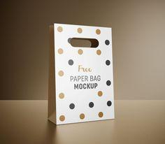 f8ff6d74331 Free Paper Packaging Gift Shopping Bag Mockup PSD – ApeMockups Bag Mockup