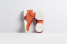 """Following up thetonal black and white iterationsof the adidas x Rick Owens Tech Runner, the duo drop beautiful """"Fox Orange"""" and """"Earth Green"""" versions."""