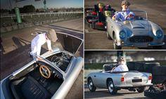 The playBOY lifestyle: Luxury car dealer sells £16,000 mini convertible Aston Martins for children