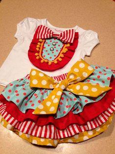 festa circo menina roupa - Pesquisa Google