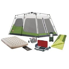 Coleman 4 Person Family C&ing Package Find outdoors collections at Target.com! C&ing suddenly  sc 1 st  Pinterest & Coleman Flatwoods 4 Person Tent | Camping Necessities | Pinterest ...