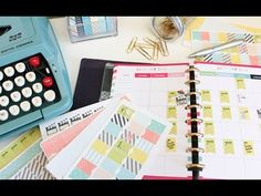 Create Your Own Planner Stickers Silhouette Cameo Tutorial - YouTube