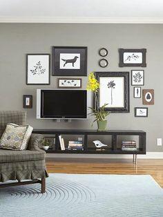 4 snygga tips på hur du trollar bort din tv (#4 är en favorit) - Sköna hem Hide your tv! http://www.skonahem.com/inspiration/vardagsrum/4-snygga-tips-pa-hur-du-trollar-bort-din-tv-4-ar-en-favorit