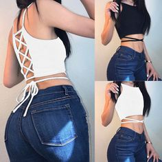 12a768f3cdd Fashion Summer Women Casual Tank Tops Vest Blouse Sleeveless Crop Tops T- Shirts