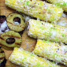 Inspired By eRecipeCards: Elote - Mexican Grilled Corn on the Cob - Grilling Time Side Dish
