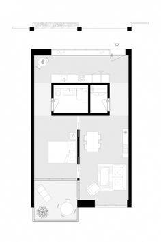 Armon Semadeni Architekten – Letziturm, Zürich-Altstetten You are in the right place about Architect Small House Plans, House Floor Plans, Architecture Plan, Interior Architecture, Famous Architecture, Minimalist Architecture, The Plan, How To Plan, Casa Patio