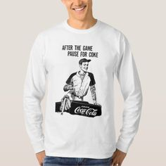 Vintage Coca-Cola | After The Game T-Shirt - tap, personalize, buy right now!