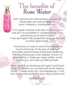 Rose water can do many things for your skin, besides a cleanser it reduces redness from ur rated skin... Also I have anxiety I have to say even though it's a cleanser it's a mood enhancer and I'm sure we all need that :) ... Try rose water!