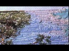 Вышивка крестиком, Как не надо вышивать! Ошибки при вышивании - YouTube