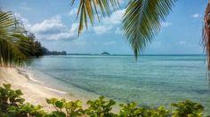 Empty beach at Nathon
