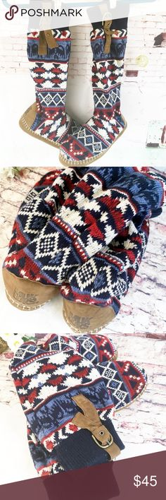 MUKLUKS, SIZE 9/10 Worn once inside.  Need a size smaller. Muk Luks Shoes Moccasins