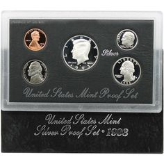 1993-S 5-Coin Silver Proof Set