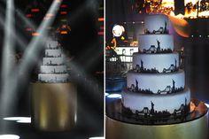 Decoração festa 15 anos - Bolo (Decoração: Alencar Ferreira   Foto: Amanda Dias)