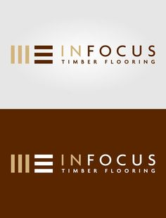 Attractive Timber Flooring Logo In Focus