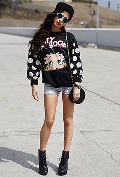 Betty Boop™ Sweatshirt   FOREVER 21 - 2000092013