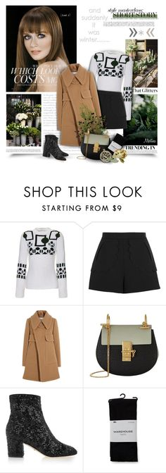 """Short Story"" by thewondersoffashion ❤ liked on Polyvore featuring Tod's, RED Valentino, Chloé, Dolce&Gabbana and Warehouse"