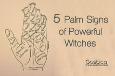 """Palmistry is a very powerful source of valuable information. It gives us insight into both our physical and our eternal body. There are Palm signs which help us understand more about our Romantic life and future marriage(s Moreover, there are signs which show us where are we good at. Both our talents and inclines """"carve"""" peculiar palm signs. This is a list of 5 important palm signs which indicate a powerful born witch. How many of these Palm signs should I have to be a Born Witch? You don't…"""