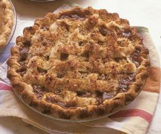 Pear Raisin Pie by Fine Cooking