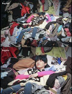 Awwww he so cute! Look at him getting ready to hibernate!!!~