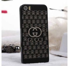 New Arrival Real Gucci iPhone 6 Cases - iPhone 6 Plus Cases - Designer Polished Case Black - Free Shipping - Chanel & Louis Vuitton Authorized Store