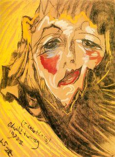 Portret Neny Stachurskiej (Odwilz twarzy) 1930 Stanislaw Ignacy Witkiewicz