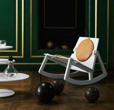 Nice: Fredrik #Färg's Rock Chair by #Design House Stockholm.