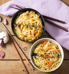 Noodles estilo asiát