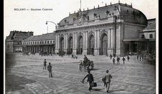 The old train station.