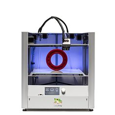 "Leapfrog Creatr HS 3D Printer, Dual Extruder, 11.8"" x 9"" x 7"" Build Volume. Fastest in it's class 300+ mm per second print speed. Largest build area (11.8"" x 9"" x 7"") for making the biggest things. Not only it is faster but also it can print higher quality as low as 10 microns. Stand-Alone operation via USB memory stick, operated by integrated LCD control screen (No Computer Required). Every CREATR HS comes with ""Dual Extruders"" so you can print multiple materials at the same time; PLA…"