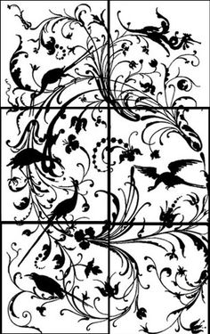 """Emery & cie - Fr - Quoi - Papiers Peints - """"Les méchants oiseaux"""""""