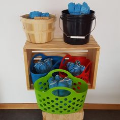 Open House Shoe Covers + Basket – All Things Real Estate