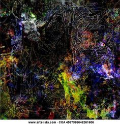 "Francisco Cuéllar Sánchez ""Cusan"". Pintura digital ""Astucia felina"""