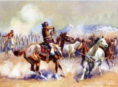 navajo-wild-horse-hunters-charles-marion-russell