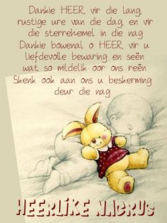 Afrikaanse Quotes, Goeie Nag, Good Night Messages, Sleep Tight, Qoutes, Disney Characters, Fictional Characters, Inspirational Quotes, Words
