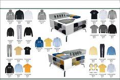Visual Merchandising in Mockshop.(planogram)