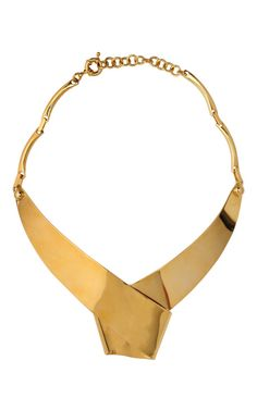 Wrapped ribbon collar necklace