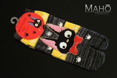 JAPANESE style Kiki's Delivery Service Ghibli TABI toe finger socks 23-25cm NEW #Tabisocks