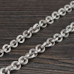 8 mm Men's Sterling Silver Chunky Cable Chain - Jewelry1000.com
