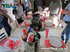 Aveng Trident Steel Potjiekos Cooking team building event in Alberton, facilitated and coordinated by TBAE Team Building and Events Team Building Events, Trident, Table Decorations, Steel, Cooking, Home Decor, Kitchen, Decoration Home, Room Decor