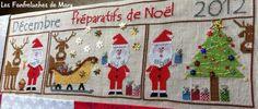 Préparatifs de Noël - patron broderie - Les fanfreluches de Mary - Fait Maison