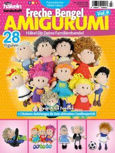 Titel Fantastische Häkelideen Amigurumi Freche Bengel Vol 9 0316