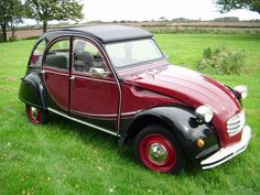 1985 CITROEN 2 CV6 RED/BLACK - Charleston