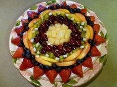 Fruit Pizza Recipe ~ An Awesome Light Fruity Desert