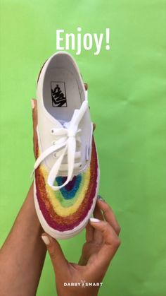 How to Add Glitter to Your Sneakers - We call em' Unicorn Kicks
