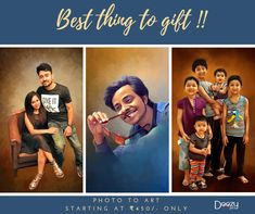 Surprise your loved once today !! 😍 best things to gift 🎁 photo to art starting at ₹ 450/- only 🤩 done by highly experienced artists 👨💻 100% satisfaction ensured 👍 Dm for your orders (or) whatsapp : 7799779935 for quicker response  website : www.doozypics.com #portraitpainting #bestthingstogift #bestgiftever #giftingsolutions #wedding #birthday #love #cutecouple #canvasprint #canvasprints #gift #gifts #birthday #birthdaygift #uniquegifts Photo To Art, Photo Restoration, Canvas Art, Canvas Prints, Photo Retouching, Brush Strokes, Cute Couples, Pop Art, Unique Gifts